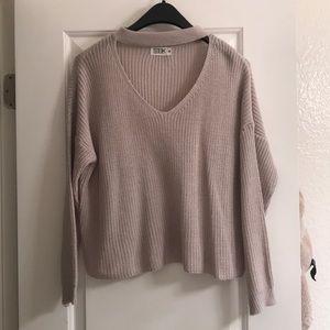 LF Seek the Label V Neck Sweater Size Medium